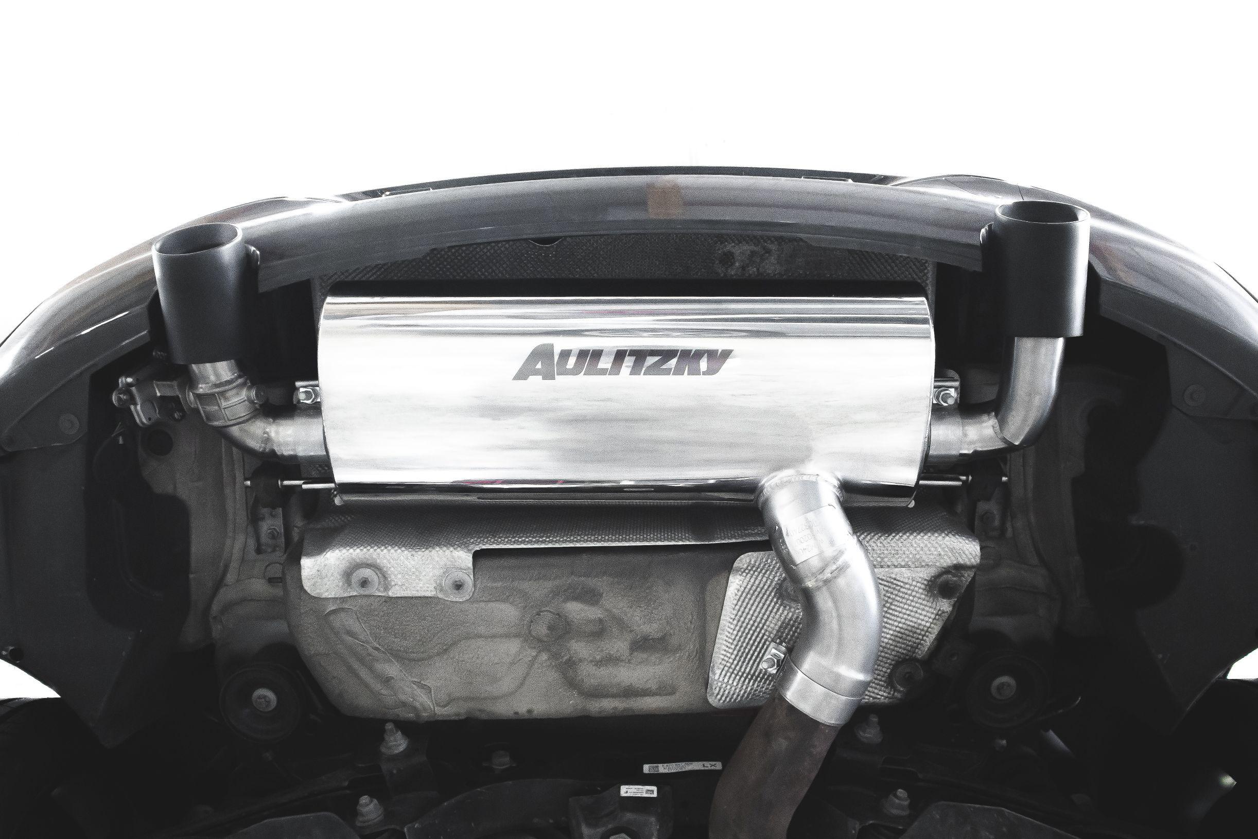 Aulitzky Exhaust | BMW 435i | F32 / F33 / F36 | Endschalldämpfer mit Klappensteuerung TÜV