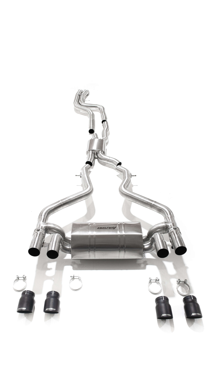 Aulitzky Exhaust  | BMW M2 Competition | BMW M2 CS OPF | F87 | Edelstahl Abgasanlage ab OPF mit Klappensteuerung TÜV