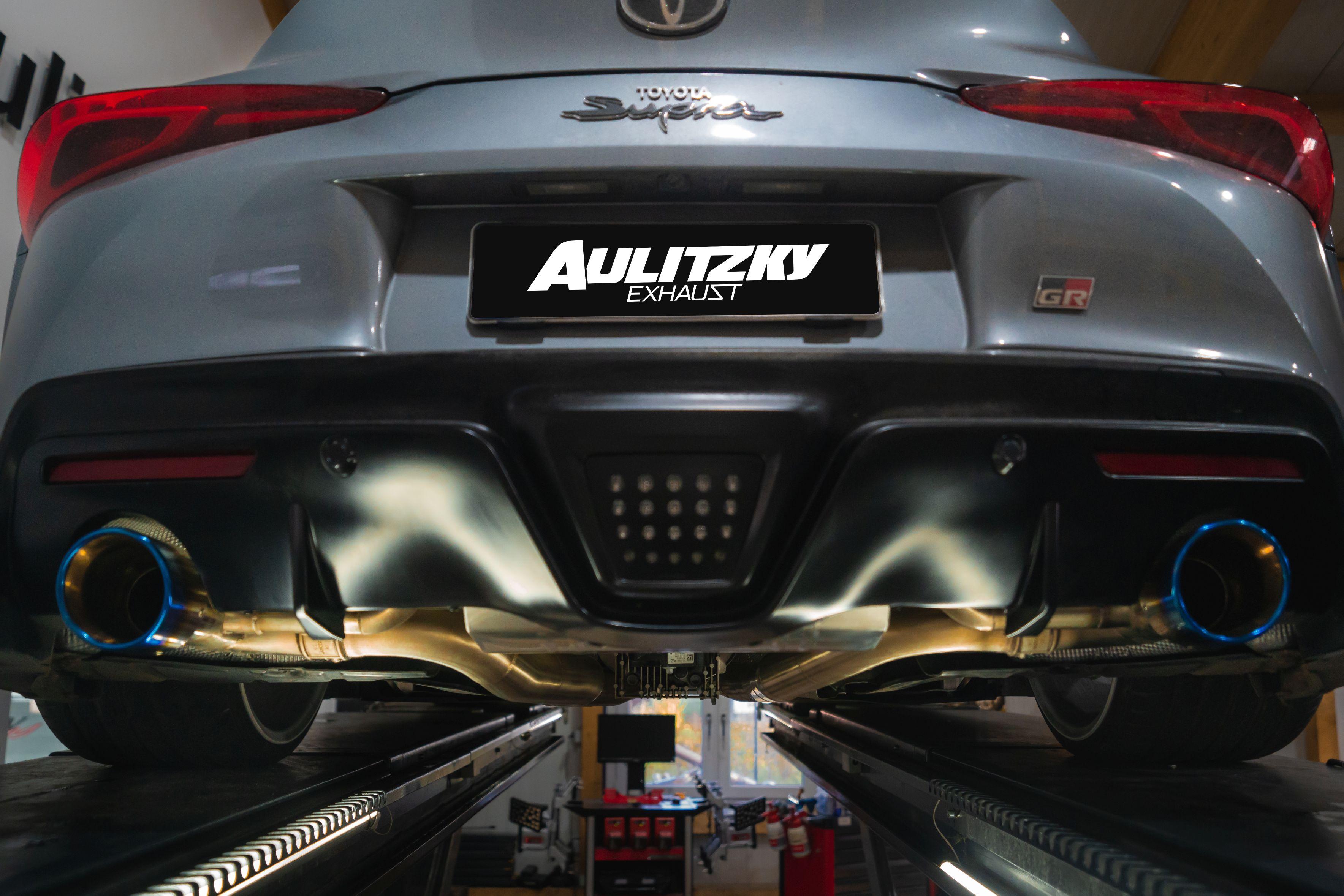 Aulitzky Exhaust | Toyota Supra MK5 | GR Supra Legend 3.0 | A90 | Endschalldämpfer mit Klappensteuerung