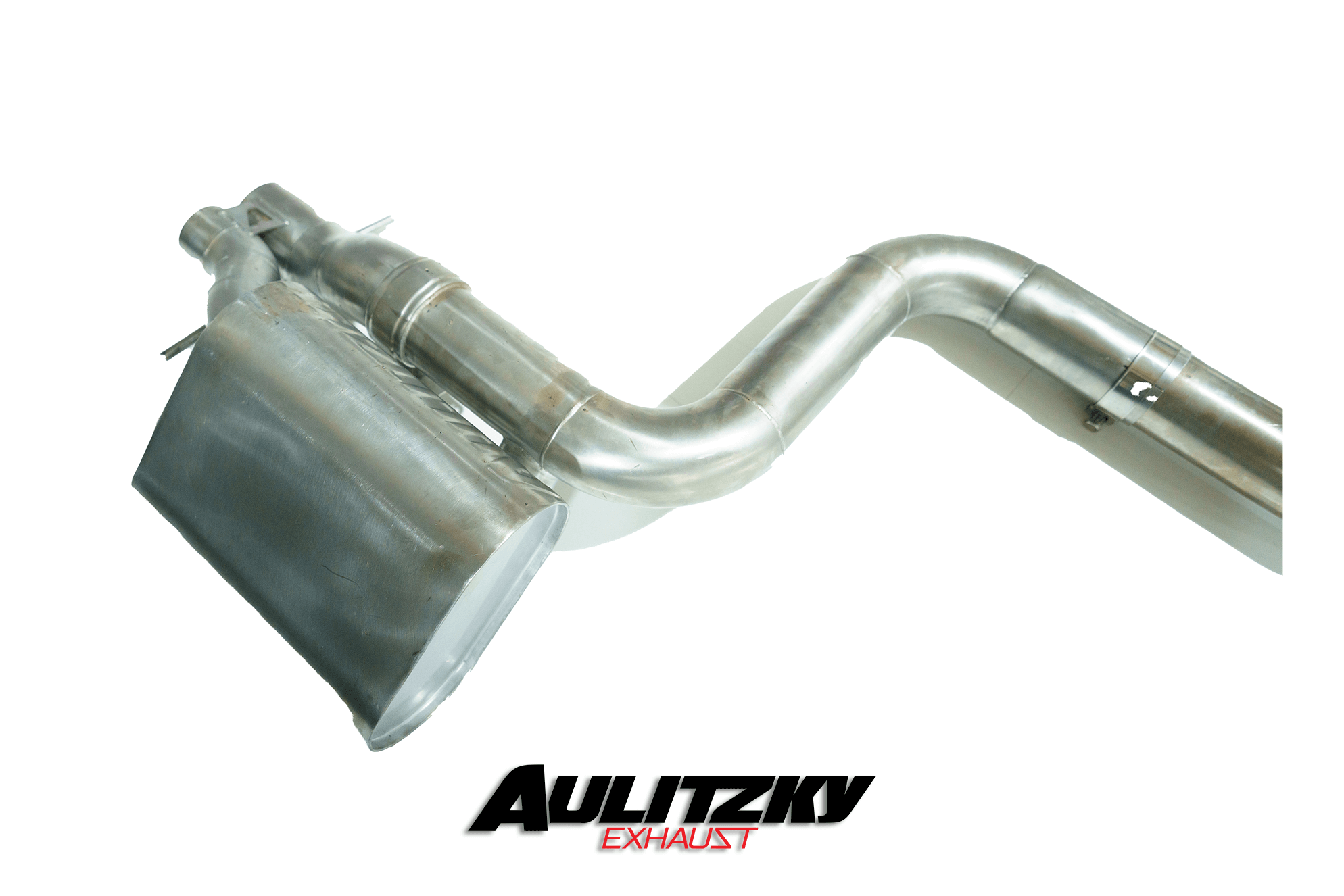 Aulitzky Exhaust | Mercedes-AMG C-Klasse | C43 AMG OPF |  W205/C205/S205 | Edelstahl Abgasanlage ab OPF mit Klappensteuerung