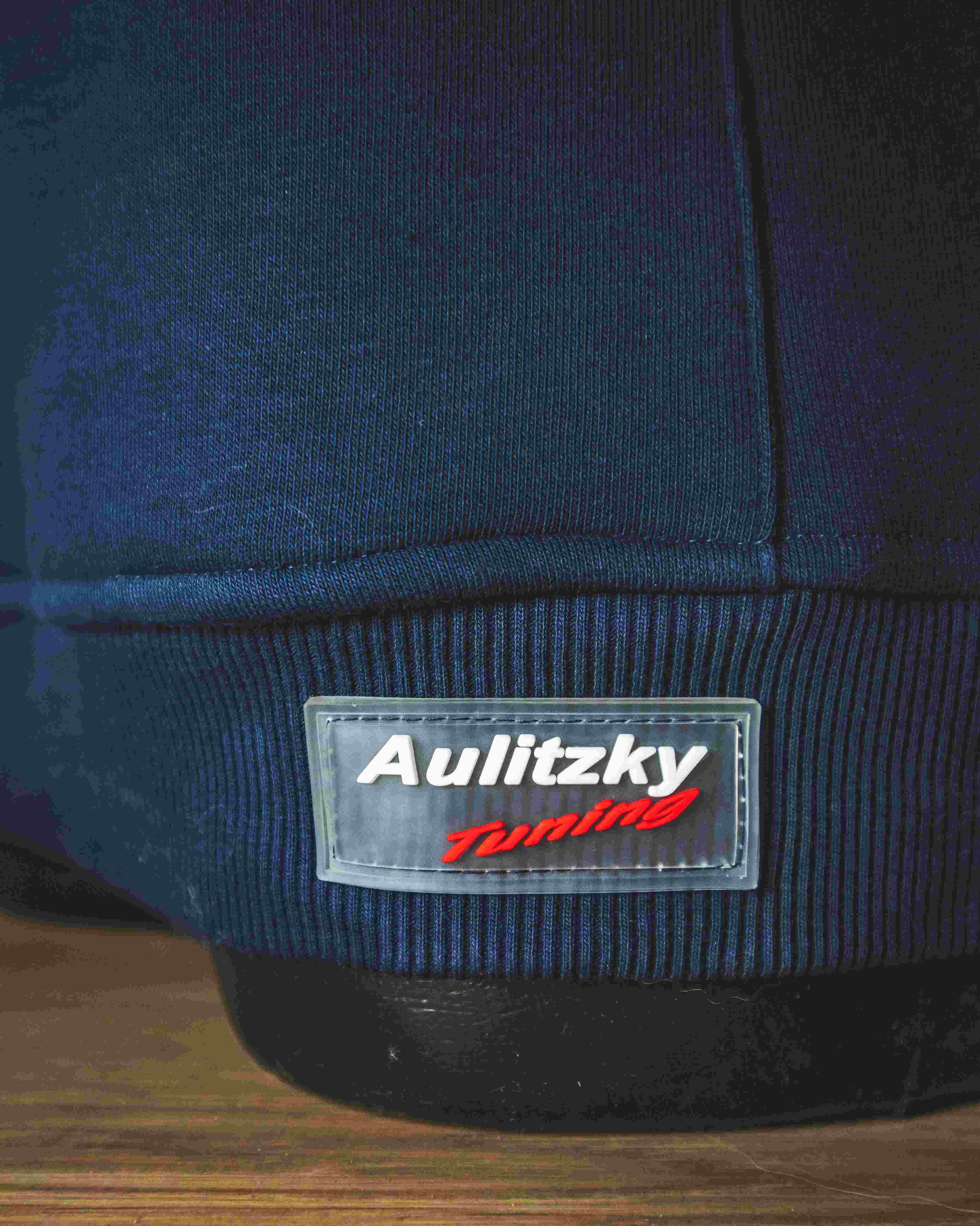 Aulitzky Tuning  Hoodie  blau/gelb