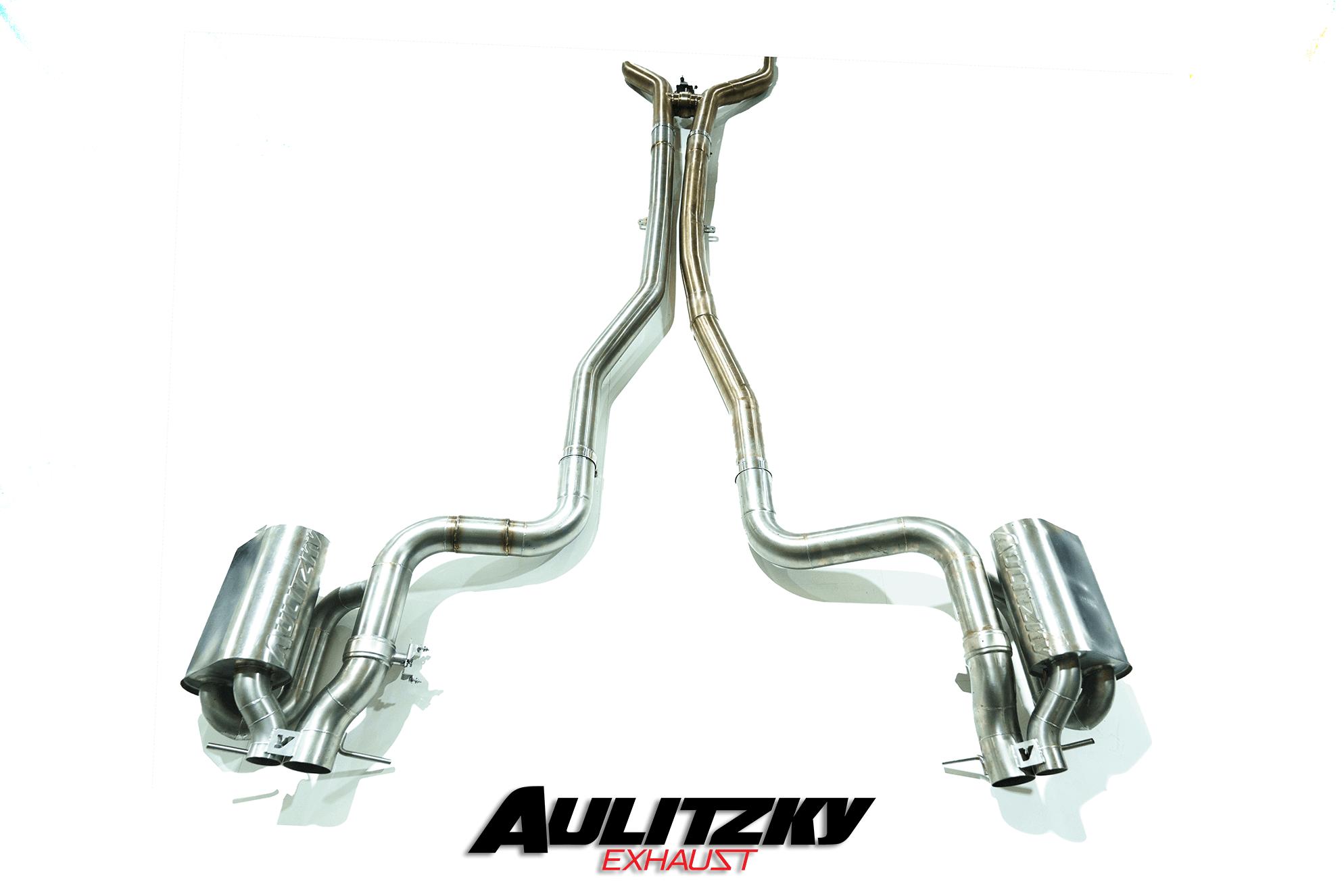 Aulitzky Exhaust | Mercedes-AMG C-Klasse | C63 AMG | W205/C205 | Edelstahl Abgasanlage ab Kat mit Klappensteuerung